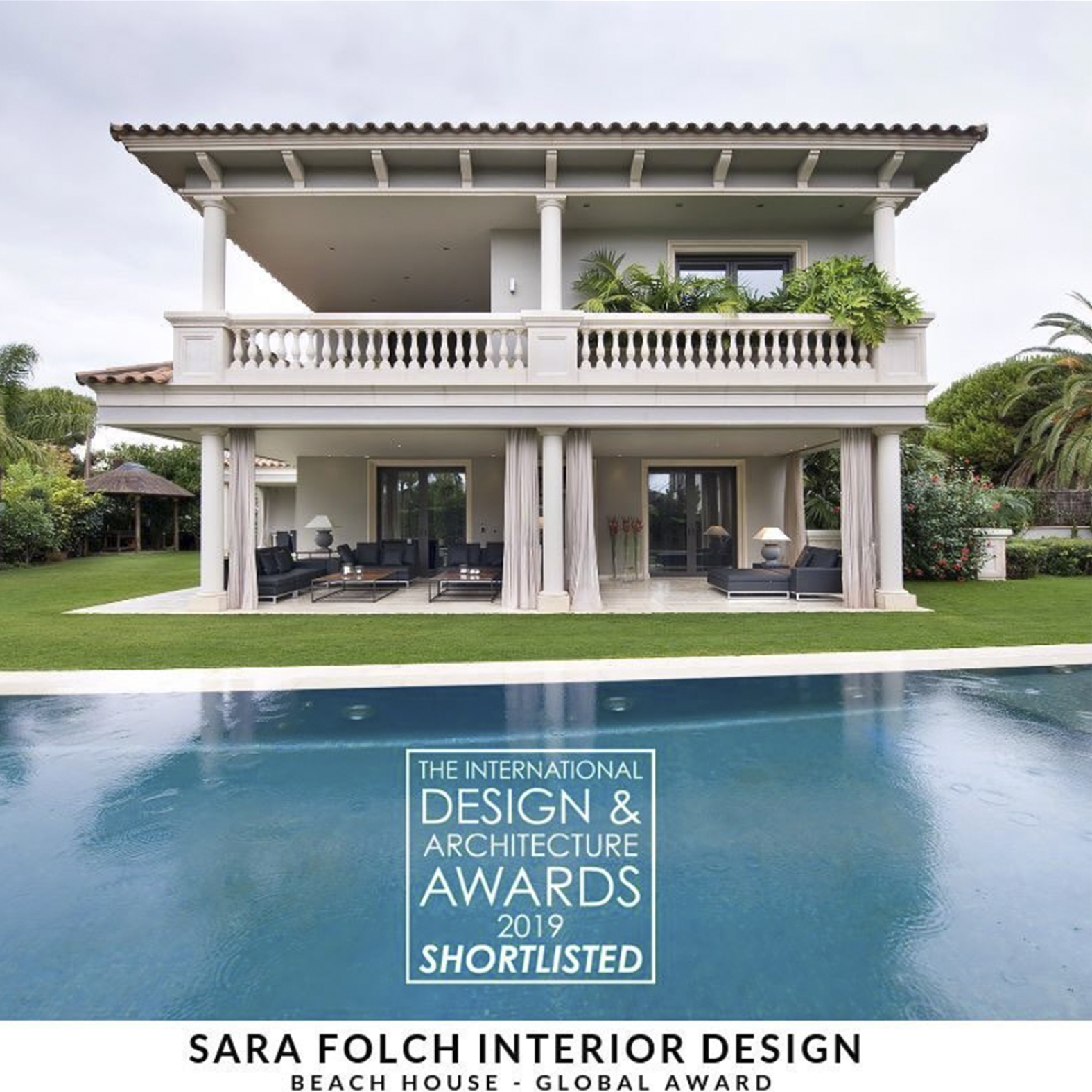 3 Nominations at The International Architecture and Interior Design Awards 2018